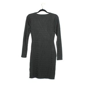 French Connection Dresses - French Connection | LinearJacquard Faux Wrap Dress